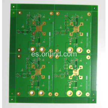 Tablero flash de oro del pcb